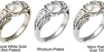 Rhodium Plating White Gold Rings