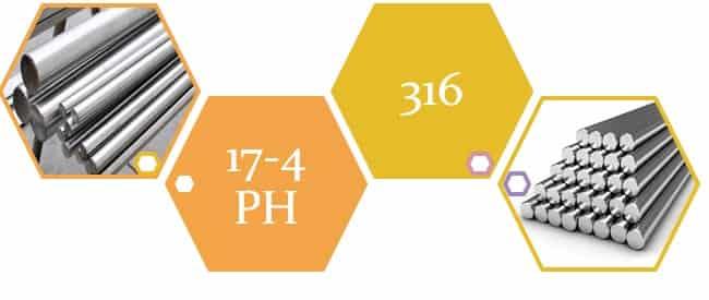 17 4 Ph Vs 316 Stainless Steel Grades